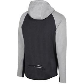 Zone3 Performance Culture Zipped Hoodie Men marl grey/charcoal/black